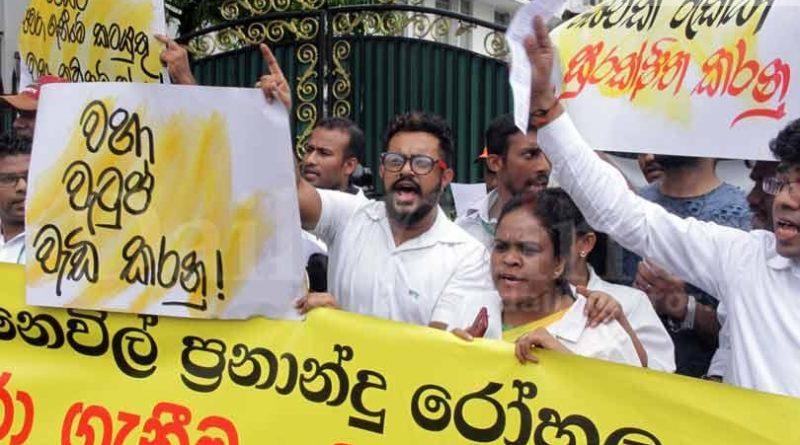 Sri Lanka News for Protesters demand govt. to immediately takeover NFTH
