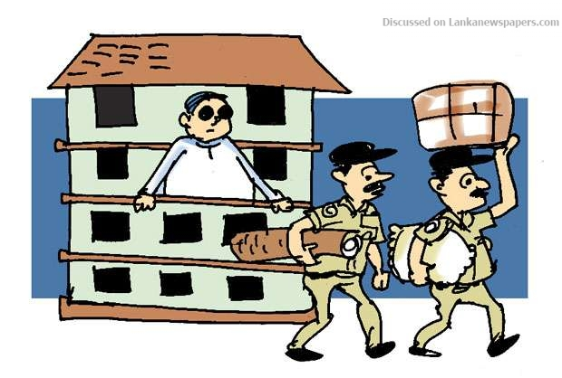 Sri Lanka News for Tightening purse strings rather than security!
