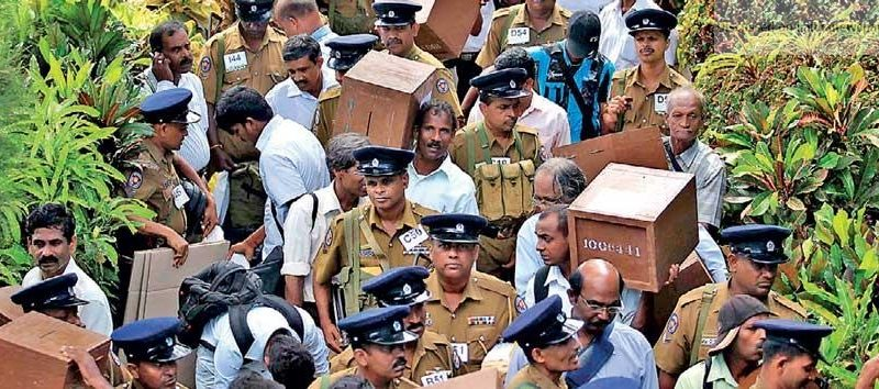 Sri Lanka News for how to arrest economic downturn: Hold national-level elections before end-2019