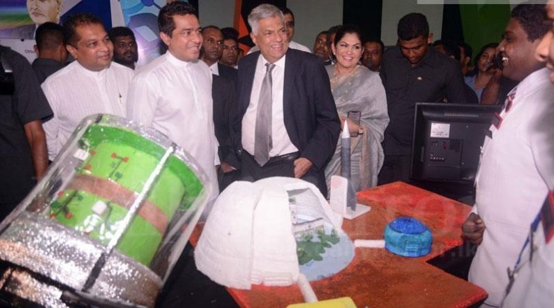 Sri Lanka News for PM at Shilpa Sena Exhibition