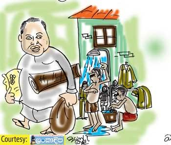 Sri Lanka News for A high-water bill for a vacated official residence!