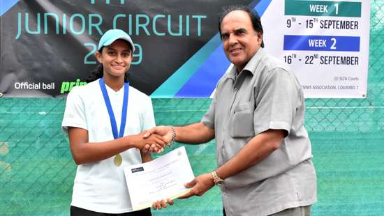 Sri Lanka News for Anjalika clinches second ITF Junior title