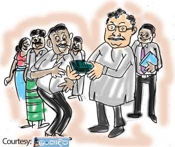 Sri Lanka News for Vote-buying has begun?