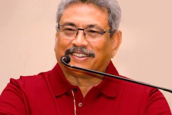 Gotabaya Rajapaksa in sri lankan news