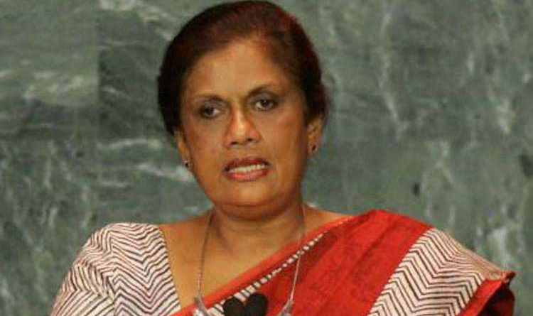 chandrika bandaranayake in sri lankan news