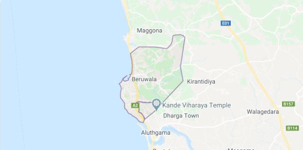 beruwala final in sri lankan news