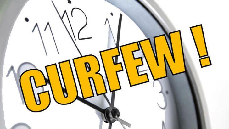 curfew times in sri lankan news