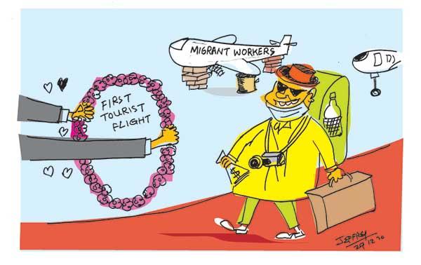 cartoon 9 1 in sri lankan news
