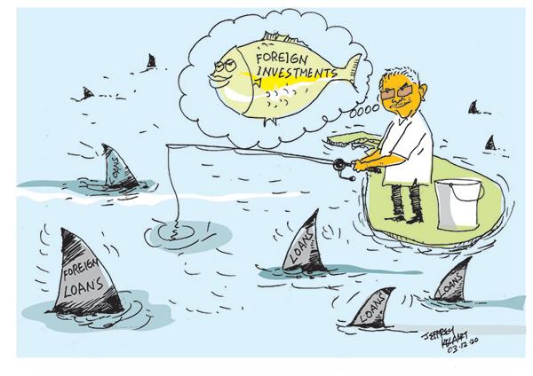 cartoon for 3rd copy in sri lankan news