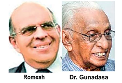 romesh in sri lankan news