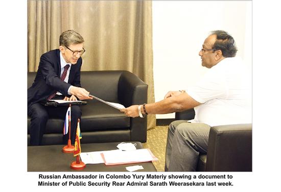rusia in sri lankan news