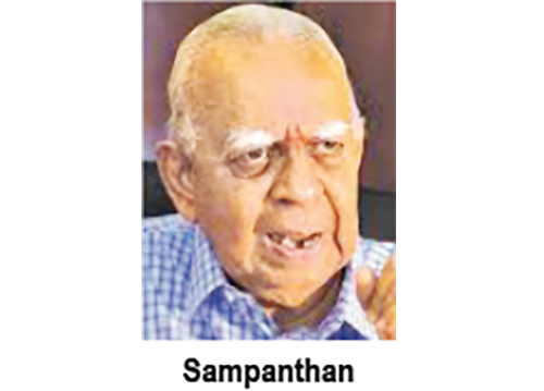 sampanthan in sri lankan news