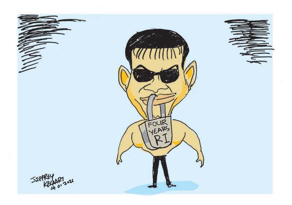 cartoon14th in sri lankan news
