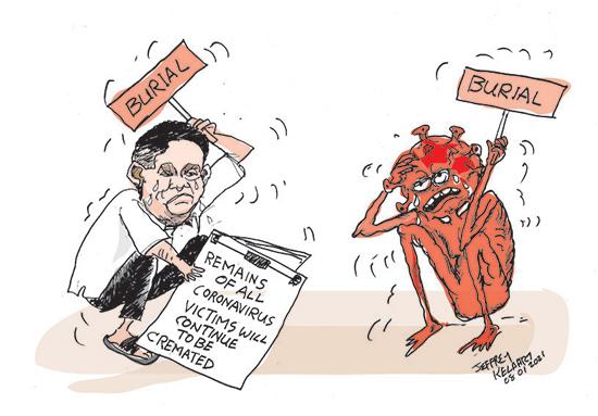cartoon8th copy in sri lankan news