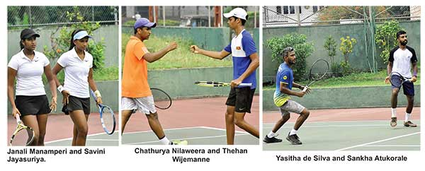 tennis in sri lankan news