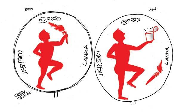 WEB Cartoon 18 in sri lankan news
