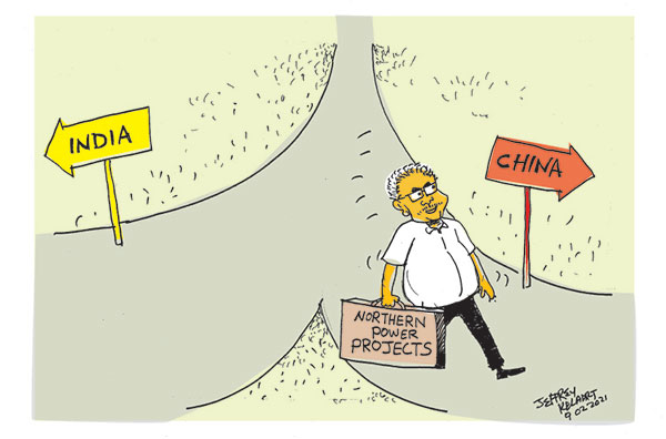 cartoon9th in sri lankan news