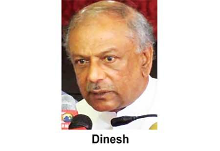 dinesh 1 in sri lankan news