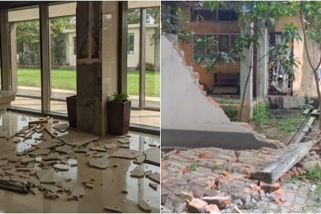 1619584906 Earthquake rocks Assam in India L in sri lankan news