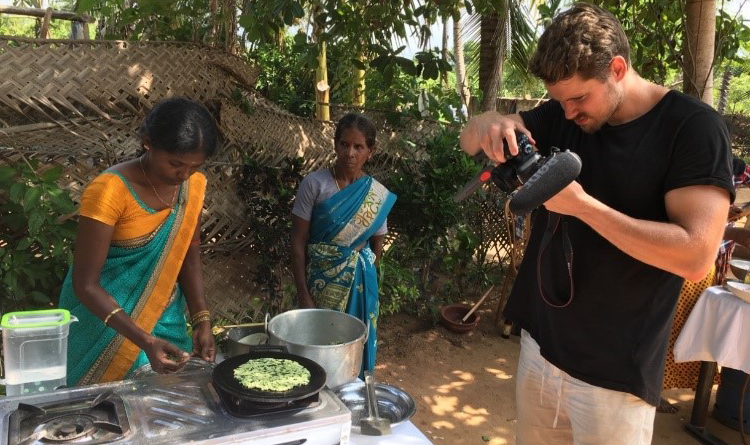 Capturing content of traditional cooking of North dishes in Kilinochchi Jaffna1 in sri lankan news