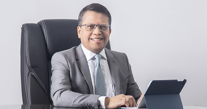 Jude Gomes Chief Executive Officer of Union Assurance in sri lankan news