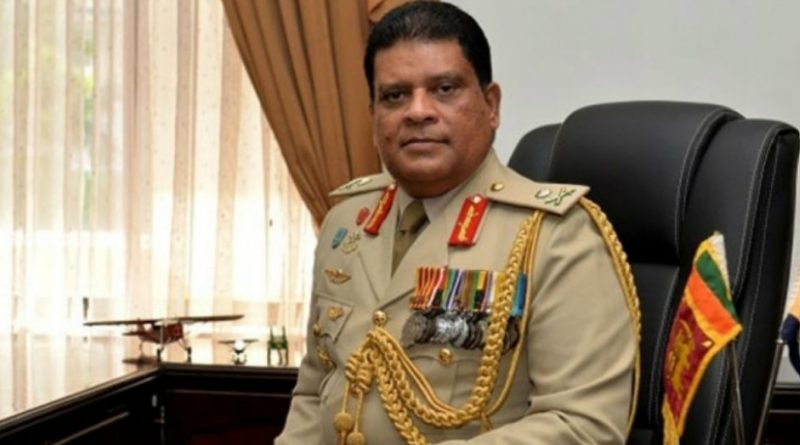 army chief in sri lankan news