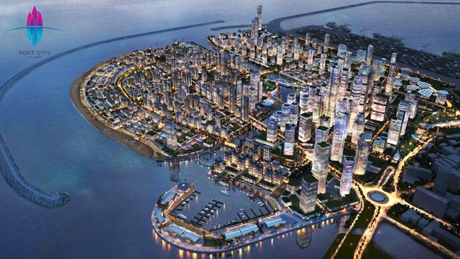 1624904130 Port City will help raise non debt forex inflows for Sri Lanka CBSL Governor B in sri lankan news