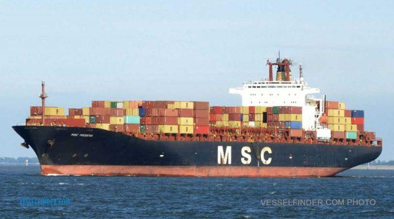 MSC Messina vessel in sri lankan news