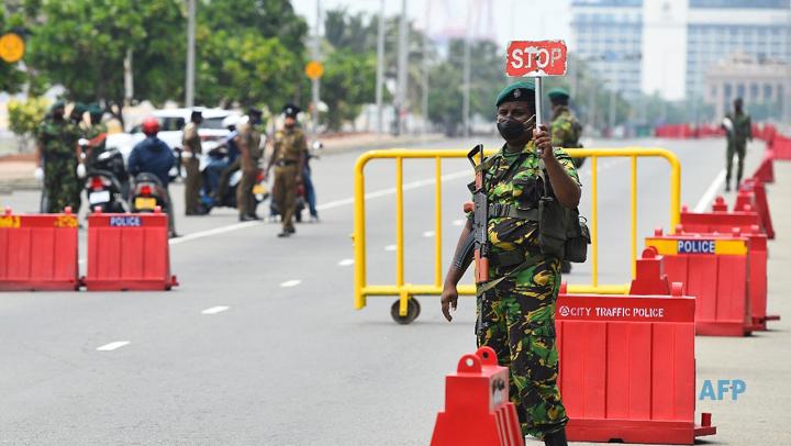 coronavirus curfew roablock sri lanka lg in sri lankan news