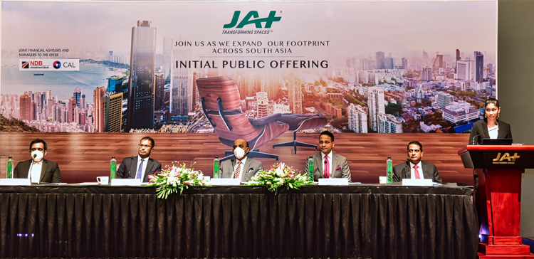 JAT IPO Launch Conference in sri lankan news