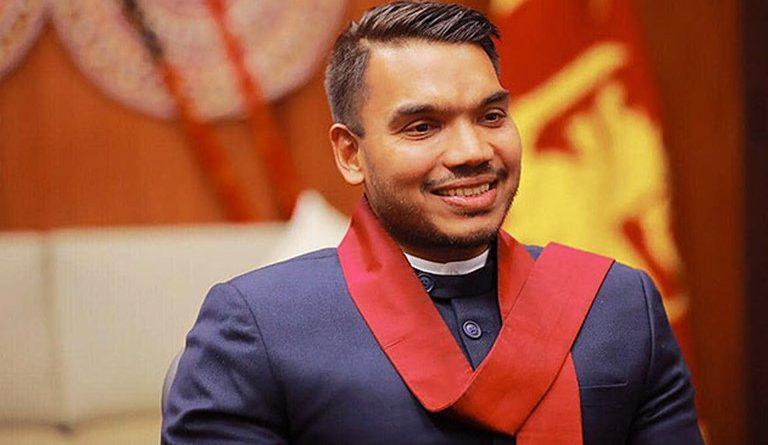 Namal Rajapaksa in sri lankan news