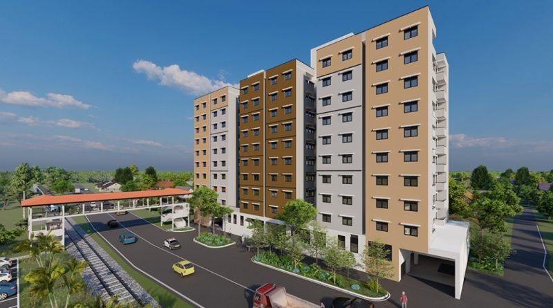 PR MAGA begins construction of new housing complex at Malapalla 1 in sri lankan news